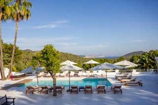 Luxury Family Villas Ibiza Poolside Lounges Dining Area