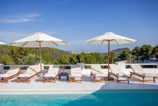 Luxury Family Villas Ibiza Poolside Lounges