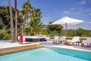 Luxury Family Villas Ibiza Poolside Nature