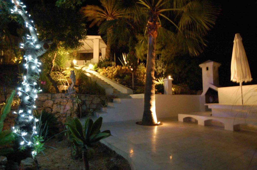 Luxury Villa Bbq Night Food Delicious
