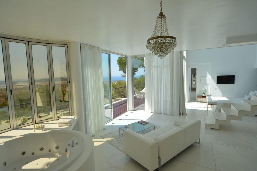 Luxury Villa Master Suite Ibiza