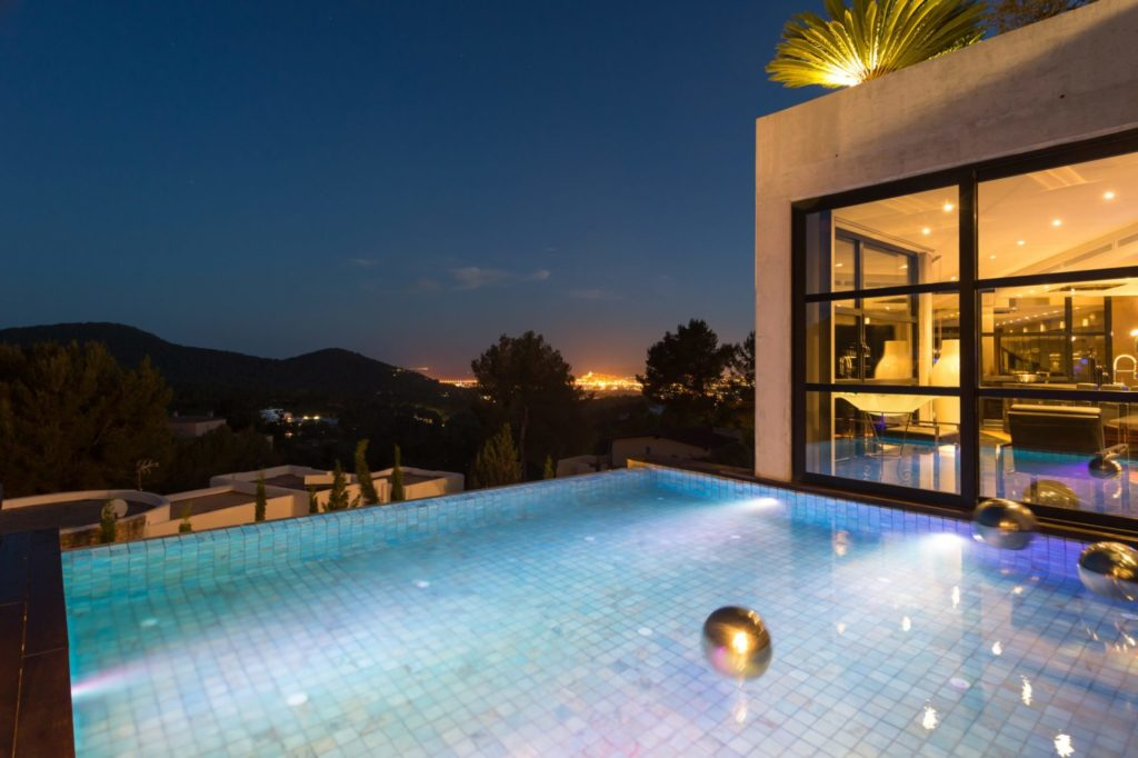 Luxury Villa Piscina Great Nigth Views Ibiza