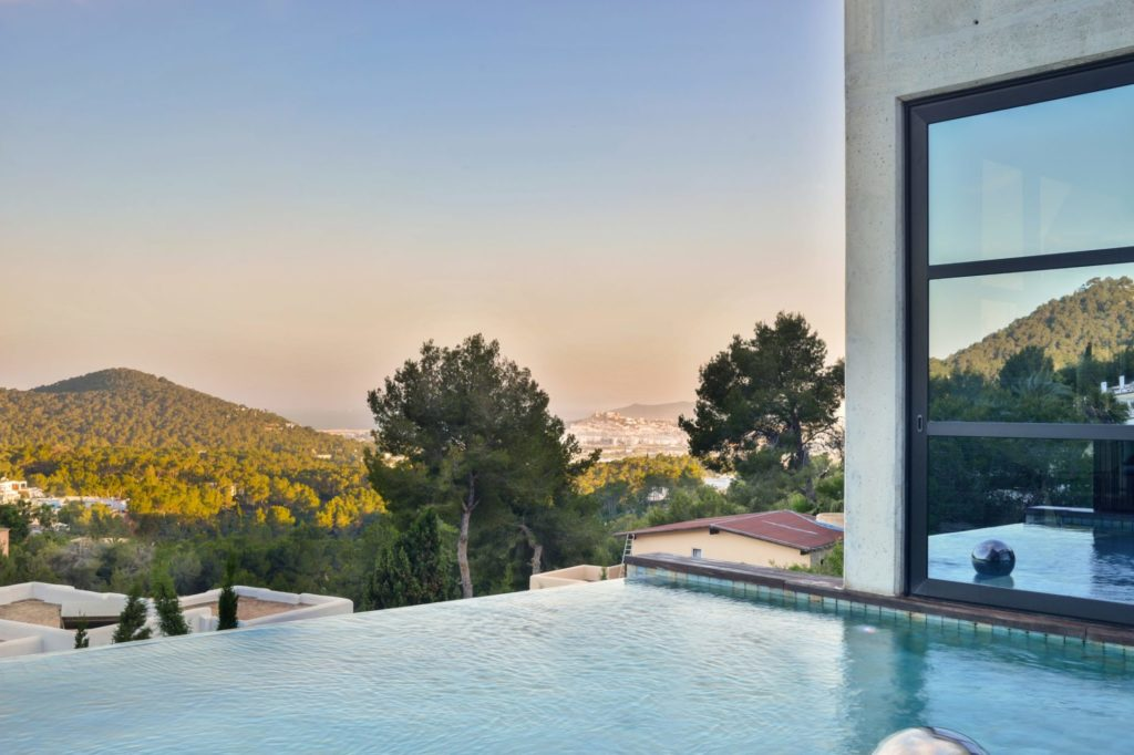 Luxury Villa Piscina Great View Pool Area Ibiza