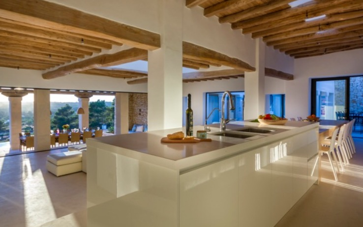 Luxury Villas Spain Ibiza Dining Area