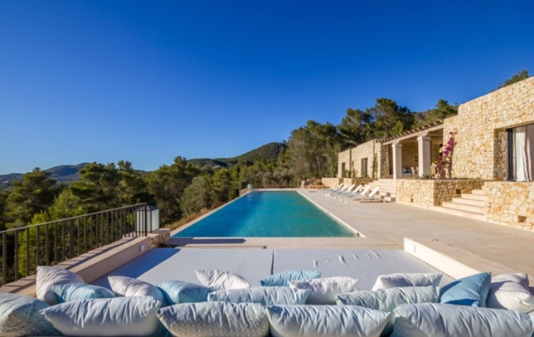 Luxury Villas Spain Ibiza Infinity Pool