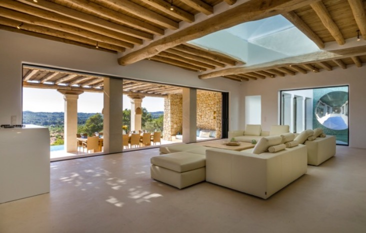 Luxury Wooden Beam Villas Spain Ibiza