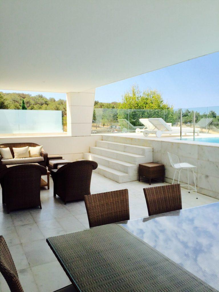 Modern Contemporary Ibiza Villa Luxury Exterior Poolside