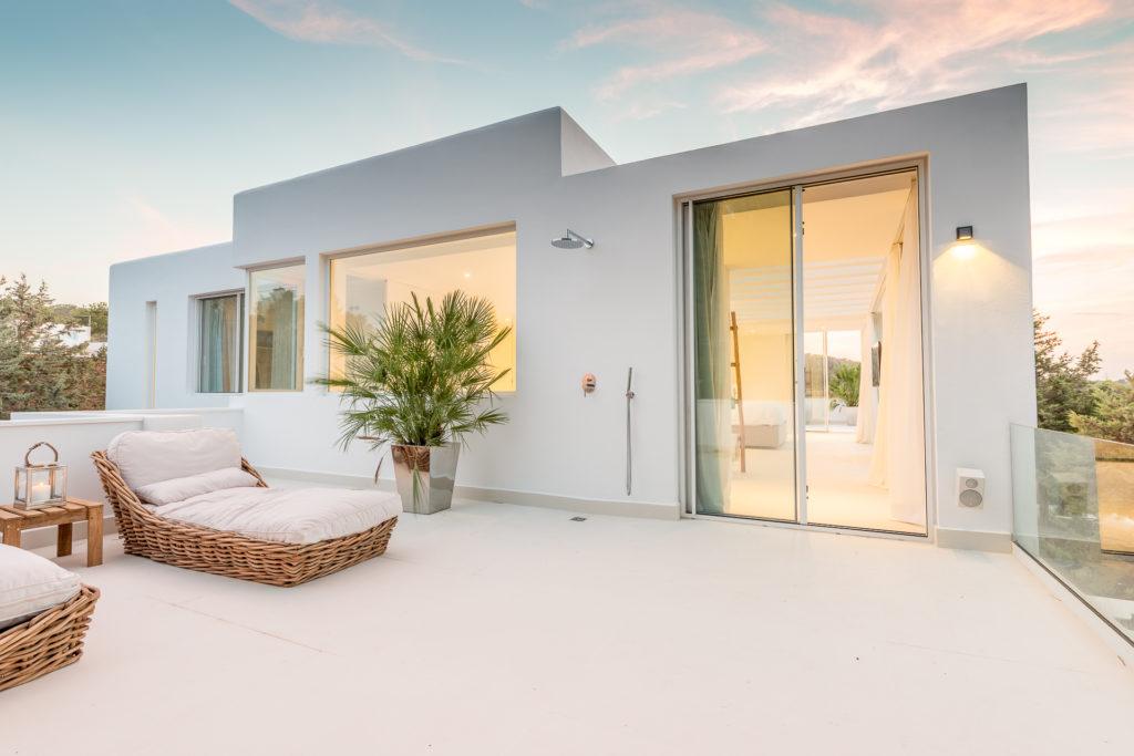 Modern Contemporary Villa Ibiza Exterior
