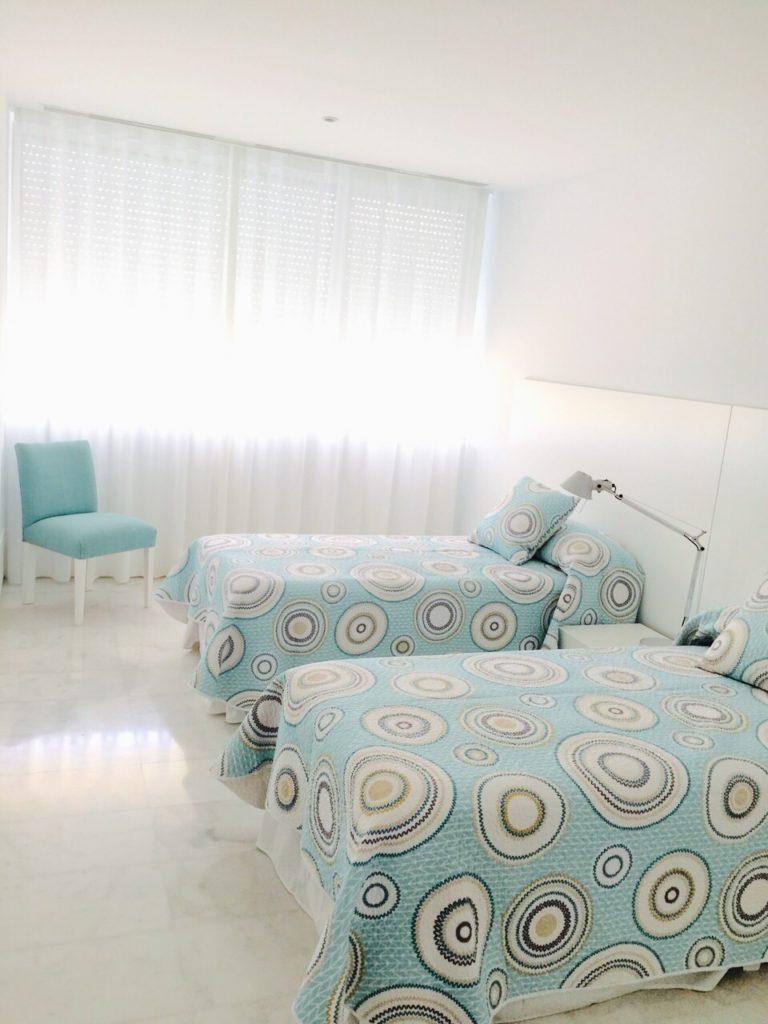 Modern Ibiza Villa Single Beds