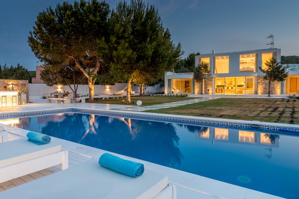 Modern Stunning Ibiza Villa Unique Luxury Luxe Sophisticated Pool