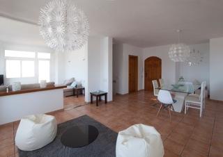 Modern Villa Living Area Ibiza