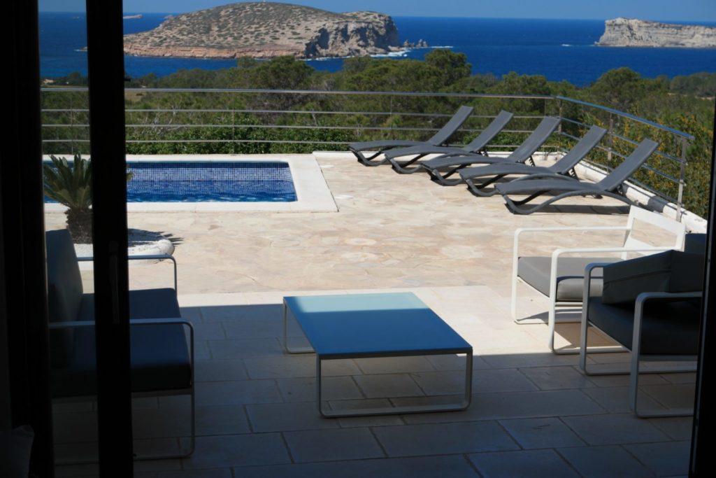 Modern Villa With Private Pool Lounge Ibiza
