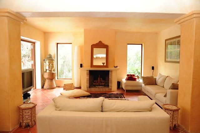 Nice Villa Living Area Ibiza