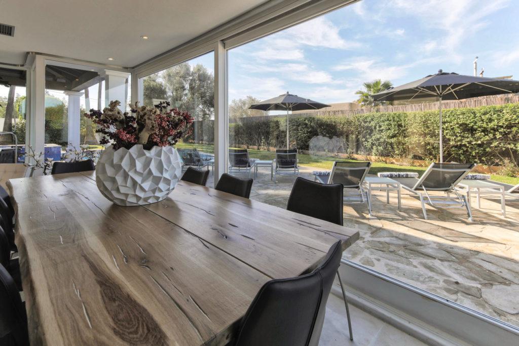 Open Living Area Talamanca Ibiza Villa