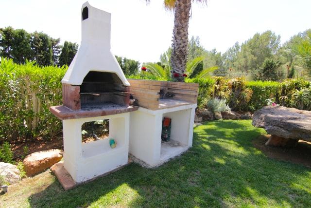 Outdoor Barbecue Ibiza Villa