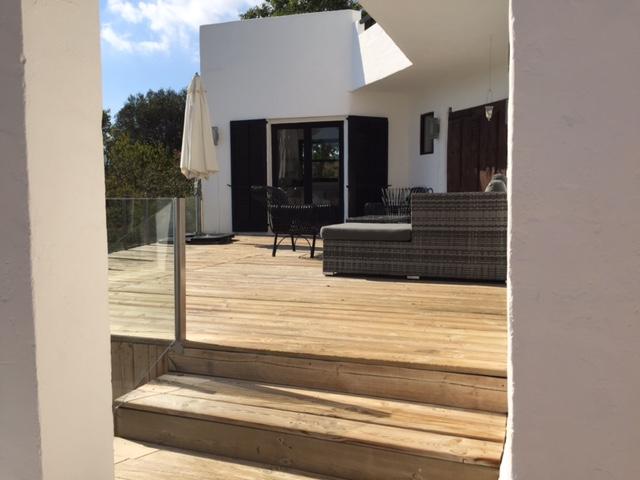 Outdoor Seating Area Ibiza Villa