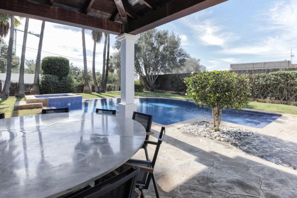 Outside Living Pool Talamanca Ibiza