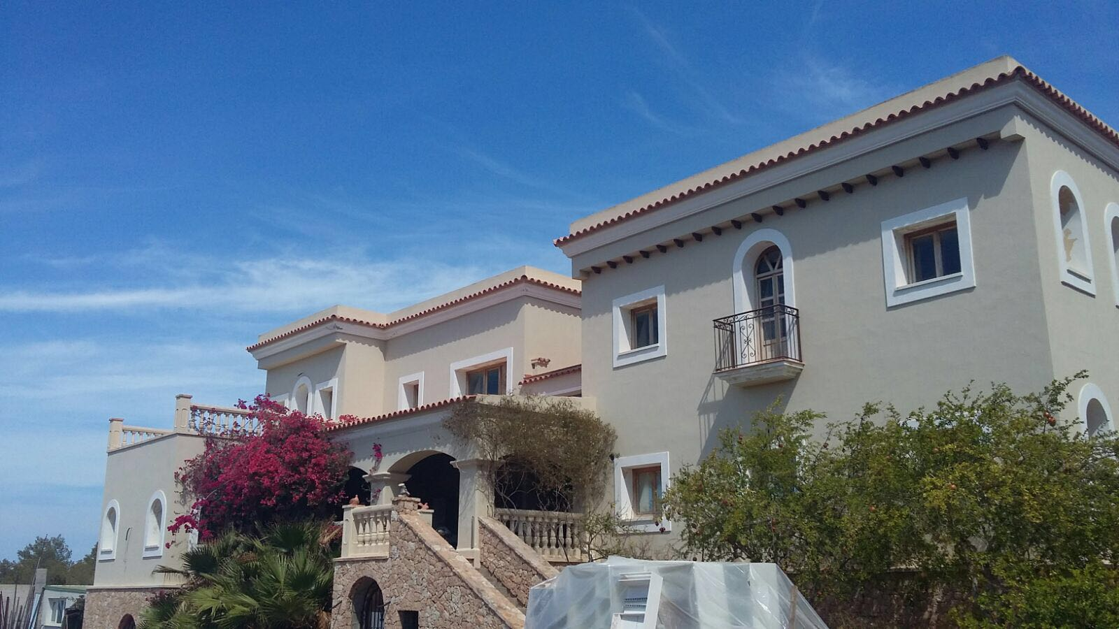 Outside View Villa Ibiza 1