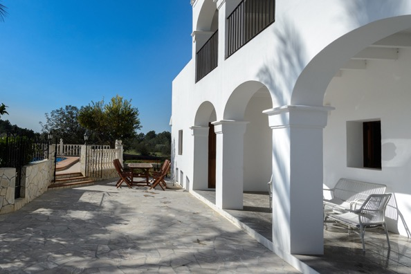 Outside View Villa Ibiza