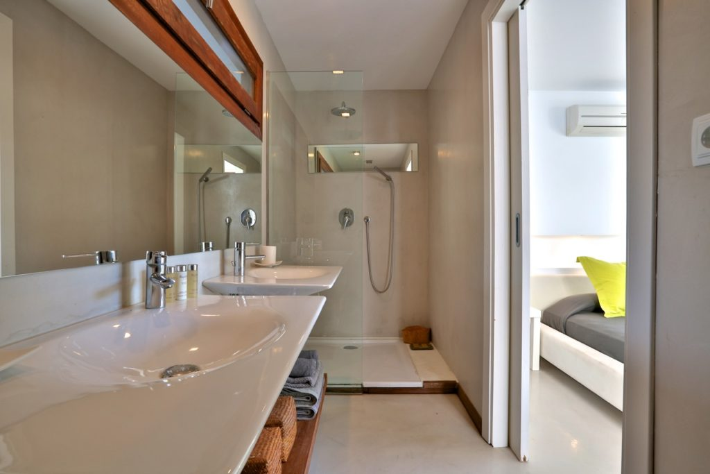 Outstanding Villa Bathroom Bedroom Area Ibiza