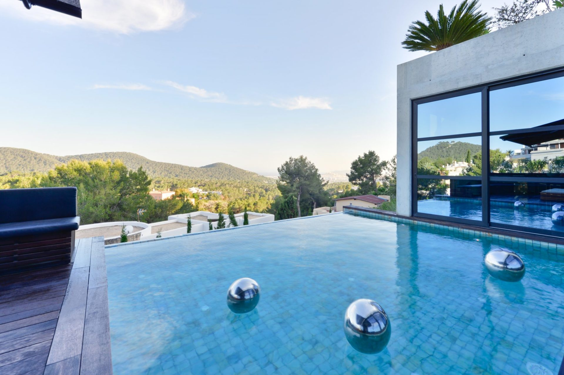 Outstanding Villa Pool Area Amazing Views Ibiza