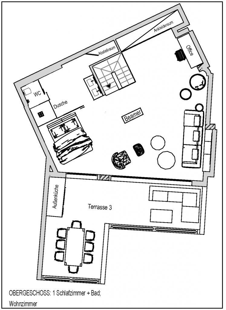 Plan Wohnung OG Bild