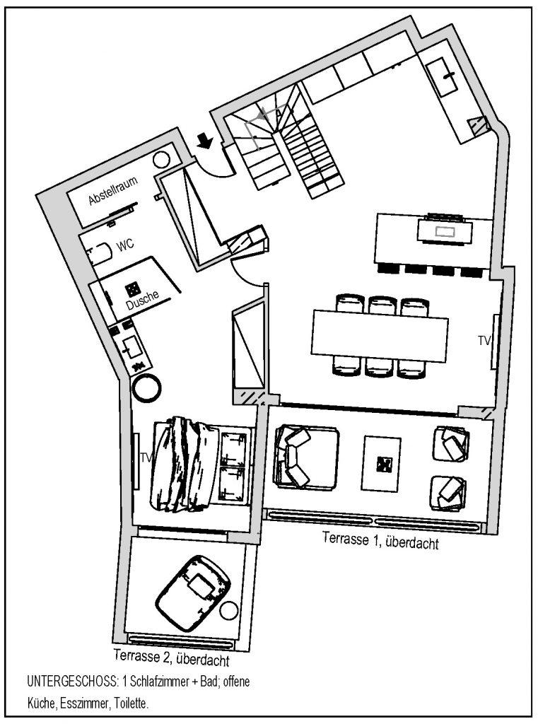 Plan Wohnung UG Bild