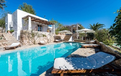 Pool Amazing Villa Luxury Ibiza Countryside Tranquil