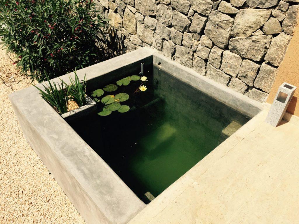 Pool Feature Garden Ibiza Villa