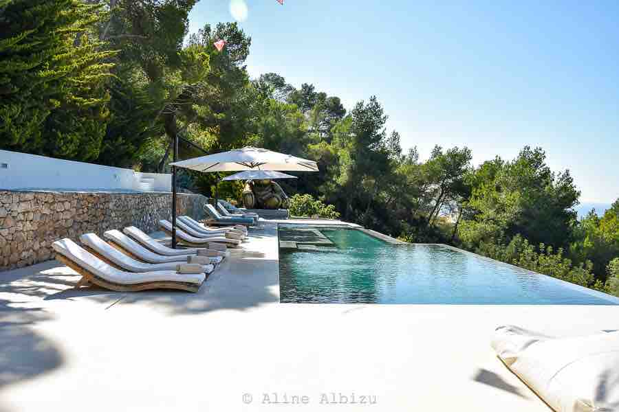 Pool Ibiza Villa Sun Sunbathing Perfect Weather