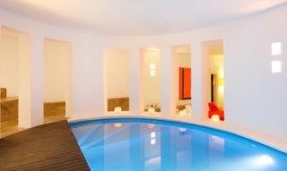 Pool Inside Villa Ibiza Tranquil