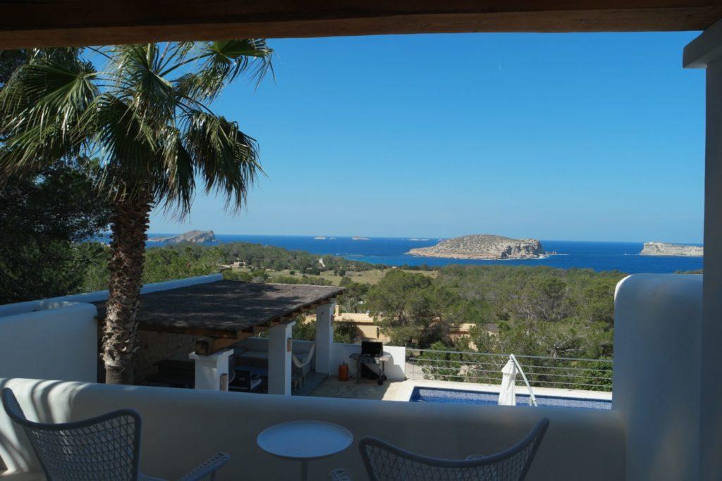 Pool Sea View Villa In Ibiza Spain