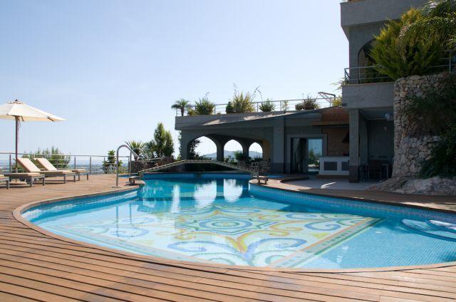 Pool Swimming Ibiza Villa Bridge