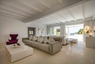 Porroig Location Villa Ibiza White Spacious