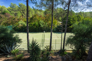 Private Luxury Tennis Court Villa Ibiza