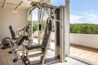 Private Villas In Ibiza Town Porroig Private Gym