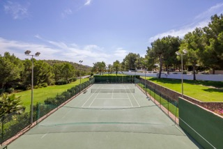 Private Villas In Ibiza Town Porroig Tennis Courts