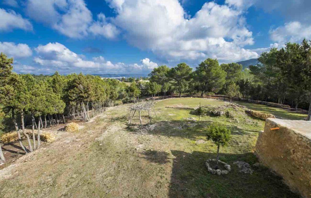 Property In Ibiza Sea View Garden