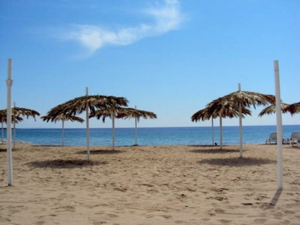 Rica Beach In Front Of Villa Rica Cala Jondal Beautiful