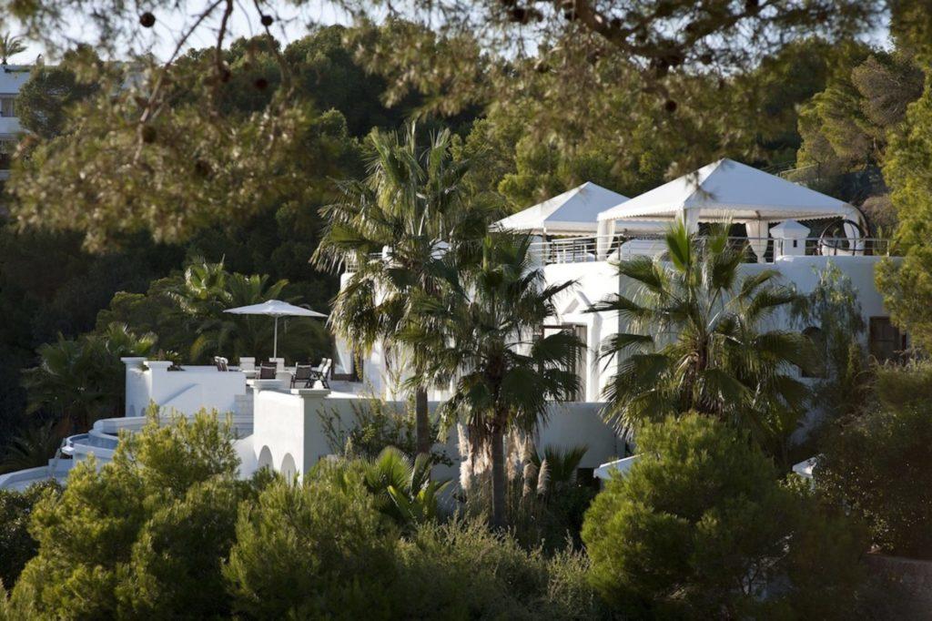 Rica Distant Side View Hidden Discrete Villa Ibiza Exclusive Luxury