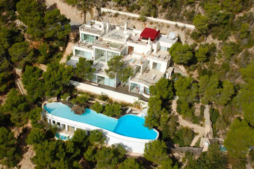 Roca Aerial Angle Luxury Complex Ibiza