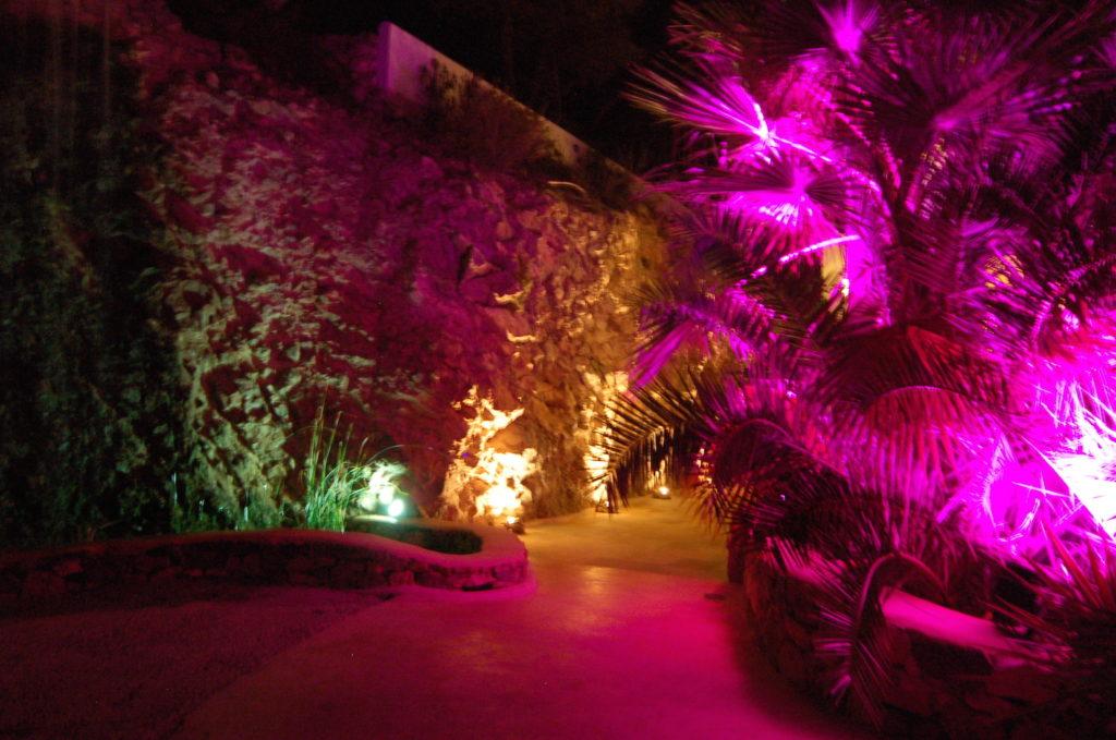 Roca Entrance Night Villa Ibiza Exclusive Luxury Vip Incredible