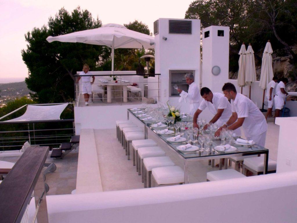 Roca Sky Lounge Staff Ibiza Villa Exclusive