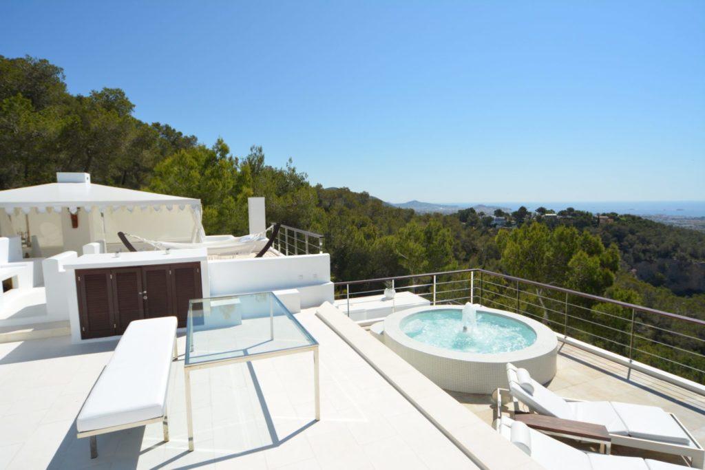 Roca Sky Lounge Villa Ibiza Luxury Ibiza