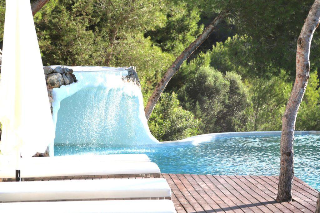 Roca Waterfall Cave Ibiza Villa Luxury Unique