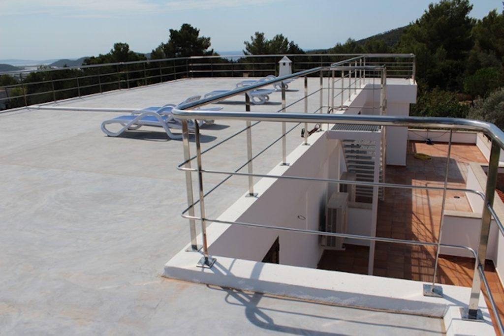 Roof Terrace Railings Metal