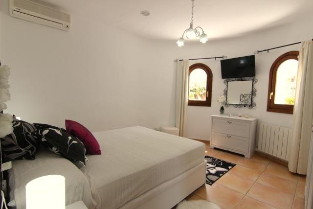 Rustic Bedroom Ibiza Villa