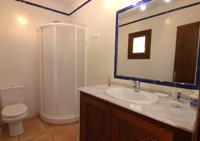 Rustic Villa Ibiza Bathroom Traditional