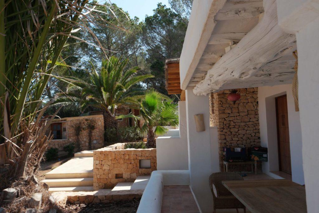 Rustic Villa Steps Entrance Ibiza Plants