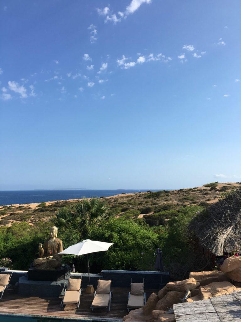 Sea View Ibiza Villa